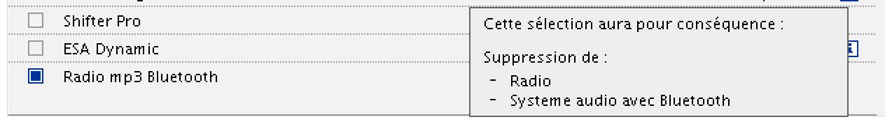 Configuration R 1200 RT - Option Radio MP3 Bluetooth